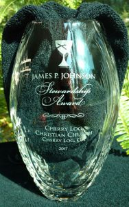 James P. Johnson Stewardship Award